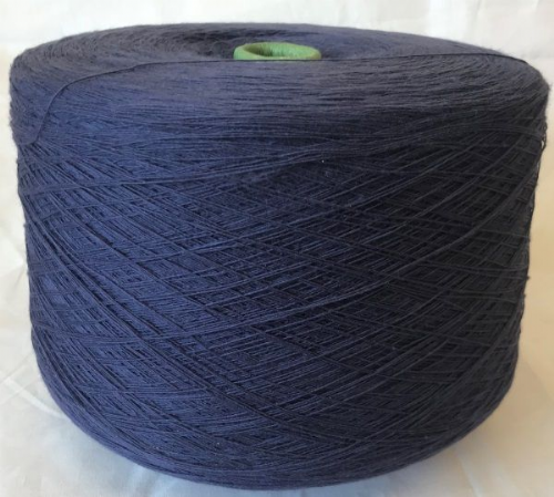 Wool Mix Yarn 2/28s Dark Denim 2kg